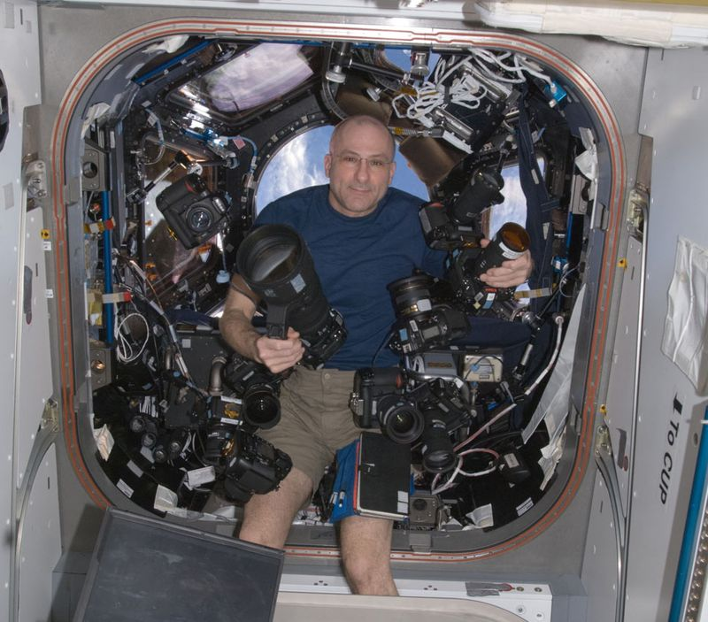 NASA photo of astronaut Don Pettit
